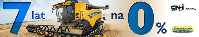 New Holland kombajn 7 lat