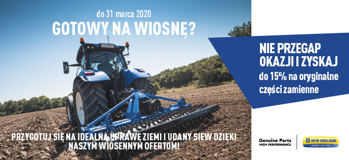 New Holland wiosna 2020
